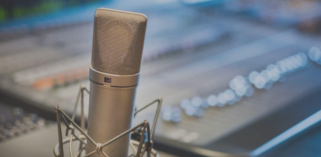 microfono locucion